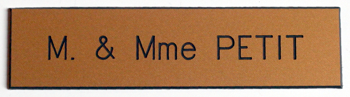 St denis plaque boite aux lettres saint denis - Etiquette boite aux lettres ...